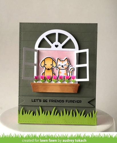 suaje cortador lawn fawn scrapbook manualidades ventana