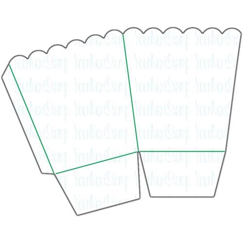 suaje cortador your next stamp scrapbook mini caja palomitas