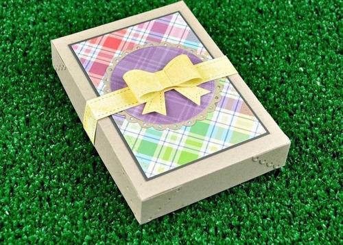 suaje corte troquel lawn fawn caja scrapbook scrap gift box