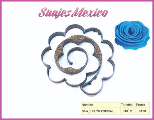 suaje flor espiral