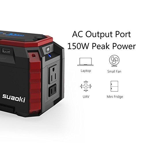 suaoki estación de energía portátil 150wh