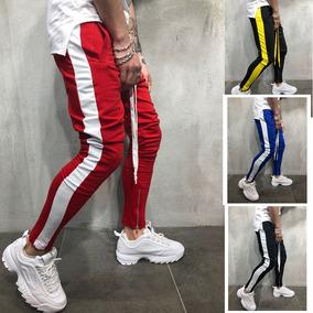 Pantalon Adidas Rojo Chupin Pantalones, Jeans y Joggings