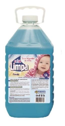 suavizante de ropa con fragancia gota limpa bidón x 5 litros