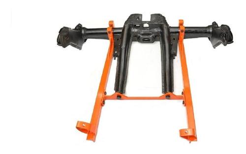 sub-chassis - suporte do motor ap no chassis de fusca adap