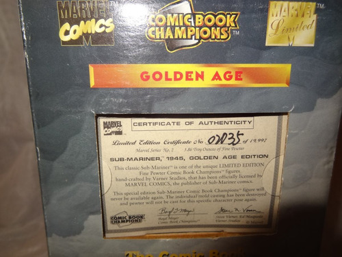 sub mariner marvel comics golden age comic book champions