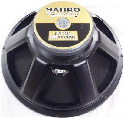 sub woofer jahro bw 18 pulgadas 650w parlante mejor marca