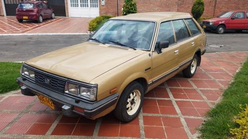 subaru 1983, 4x4, 5 puertas, 1800cc