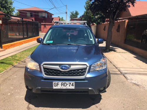 subaru all new forester 2014 awd unica dueña