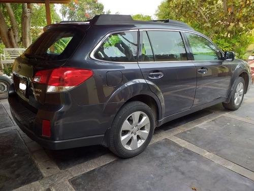 subaru all new outback 2010 - uso dama - motor 3.6 - 255 hp