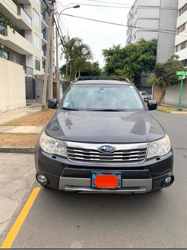 subaru forester limited