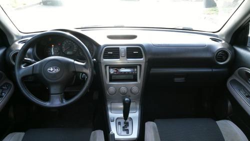 subaru impreza 2.0 r at 2006 gris automático 2da mano