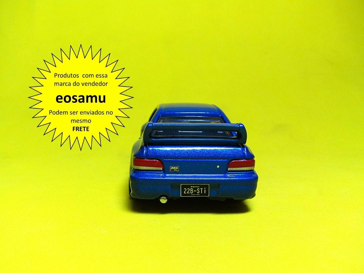Subaru Impreza 22b Sti Version Azul Tomica Premium Prox 1 64 R 65 18 Mitsubishi Gto Twin Turbo Carregando Zoom