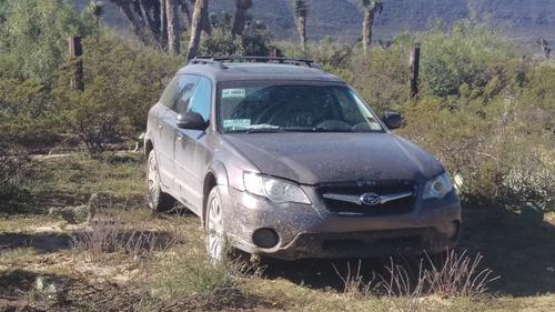 subaru outback 2.5 vagoneta limited piel at 2009
