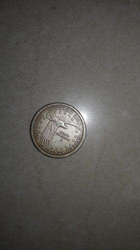 subasta moneda de dolar sacagawea año 2000