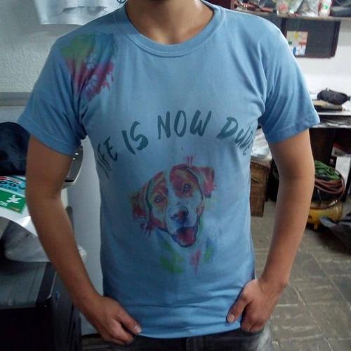sublimación de camisetas
