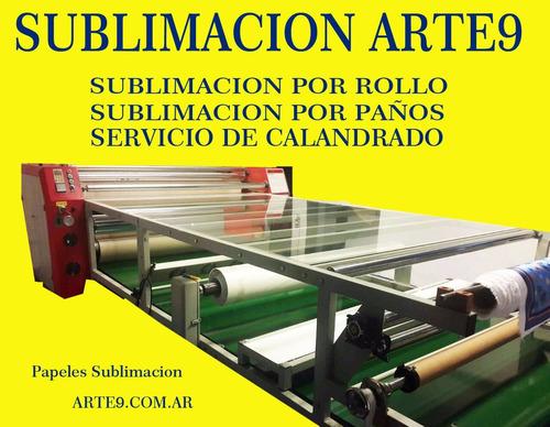 sublimacion por metro  y sublimacion por rollo