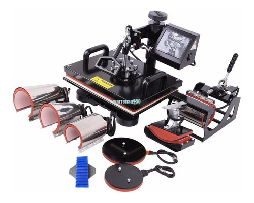 sublimadora 9 en 1 (50x40), impresora epson 7710 combo
