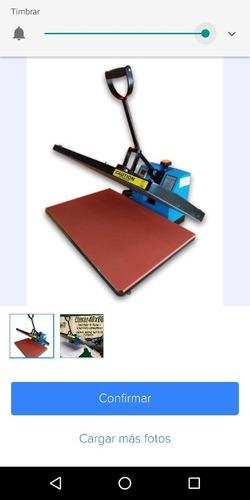 sublimadora plancha 40x60  nueva sublimacion gran formato