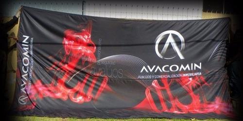 sublimados  : telas ,banderolas de todos los tamaños.