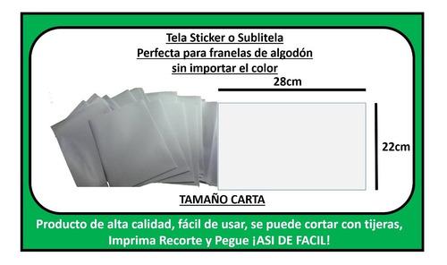 sublitela calcotela para tela claro/oscuro 5 unidades
