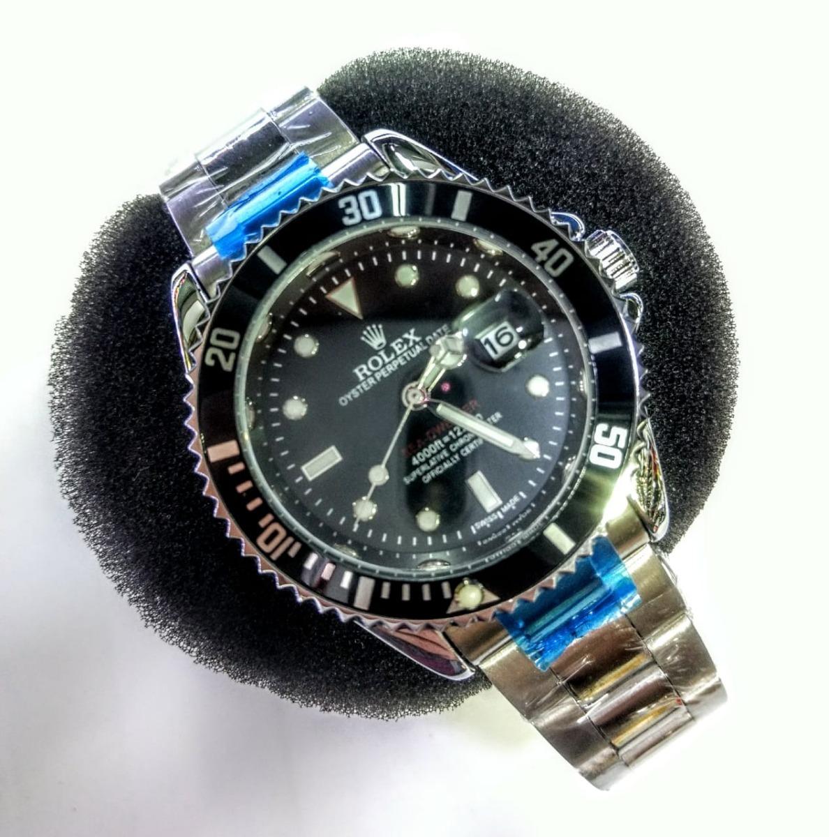 d822729b730 submariner black com caixa. Carregando zoom.