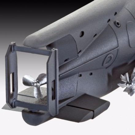 submarino alemão xxvii b seehund  16,5 cm 1/72 05125 revell