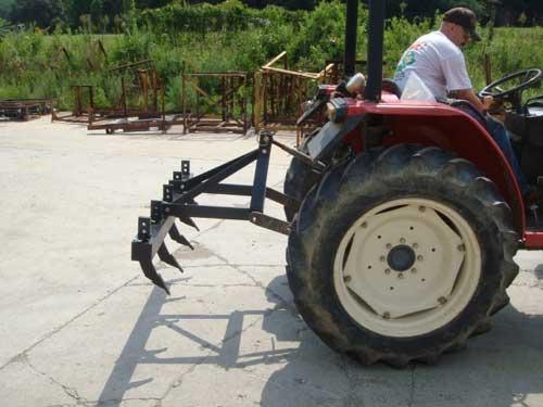 subsolador cultivador de 6 puntas - tipo jumbo - cincel
