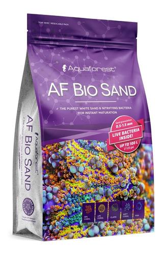 substrato aquaforest af bio sand 7,5kg c/ ativador biologico