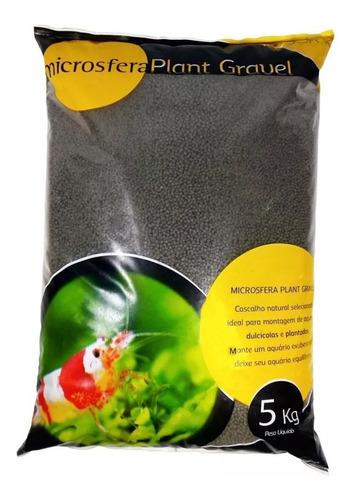 substrato fértil soma microsfera 5kg ceramic black p aquario