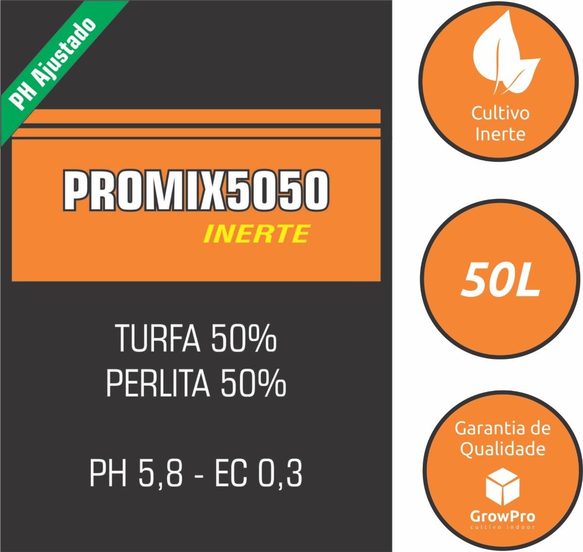 c86e272ab495 Substrato Inerte Promix 5050 50l - Turfa 50% + Perlita 50% - R  69 ...