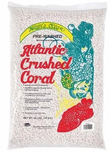 substrato ocean atlantic crushed coral nº 1 - 9kg