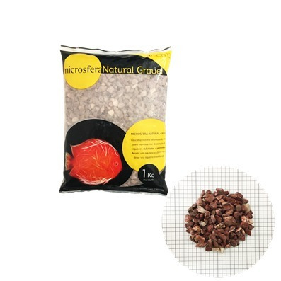 substrato soma microsfera natural grave blood red 3-4 mm 1kg