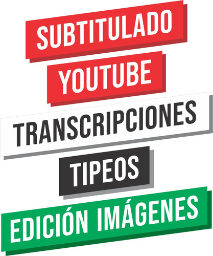 subtitulado youtube transcripciones tipeos edición img fn bl