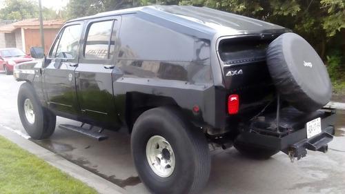suburban diesel modificada tipo h1 -89