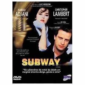 subway com jean reno e eric serra dvd original