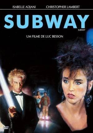 subway dvd decada de 80 paris frança christopher lambert