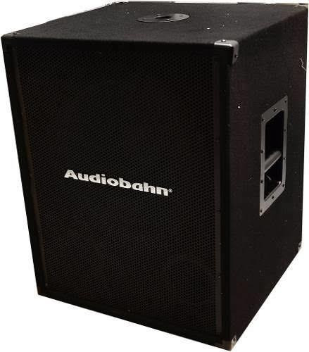 subwofer activo marca audiobahn 18