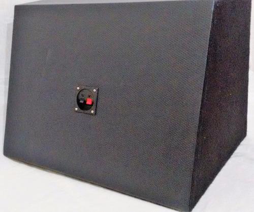 subwoofer 12 pol 400 w rms sturdy + caixa dutada = selenium