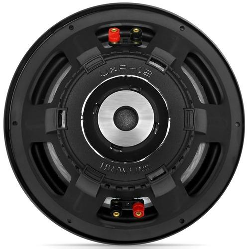 subwoofer 12 polegadas bravox new uxp power 12d2 500w rms