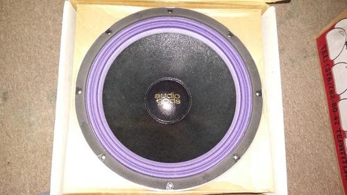 subwoofer 400w doble bobina hb1510 d-bass audio gods bocina