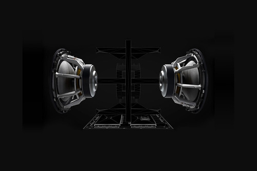 subwoofer activo marca bowers & wilkins - b&w  modelo db-3d