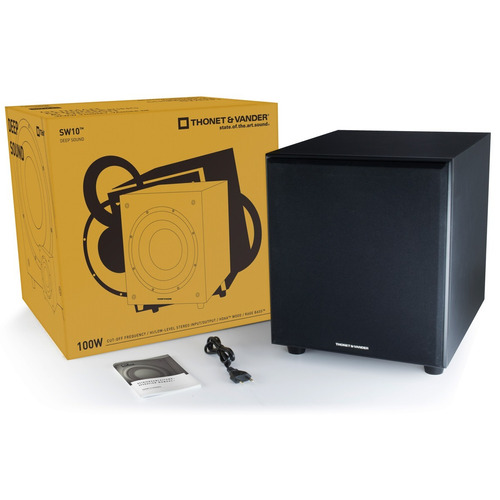 subwoofer activo thonet sw10 ideal parlantes bluetooth