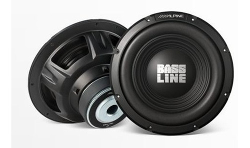 subwoofer alpine swa 12 s4 250 rms - audio secrets