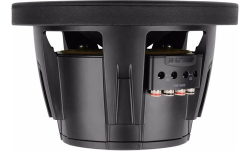 subwoofer alpine swr-8 d2 - 350 rms -  audio secrets