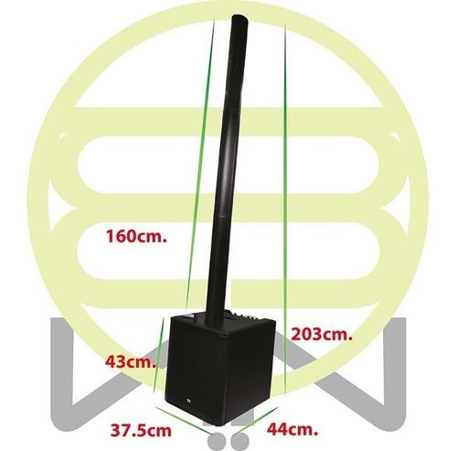 subwoofer amplificado apolo 12 pulgadas satelite profesional