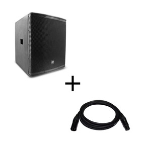 Subwoofer Amplificado Bocina 18  Alien Sp18 Cable Gratis