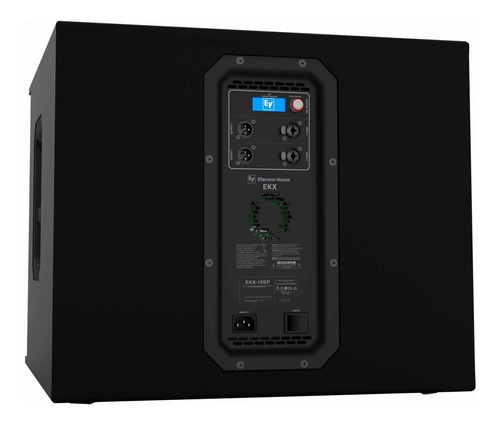 subwoofer ativo 1300w ekx 15sp us - electro-voice