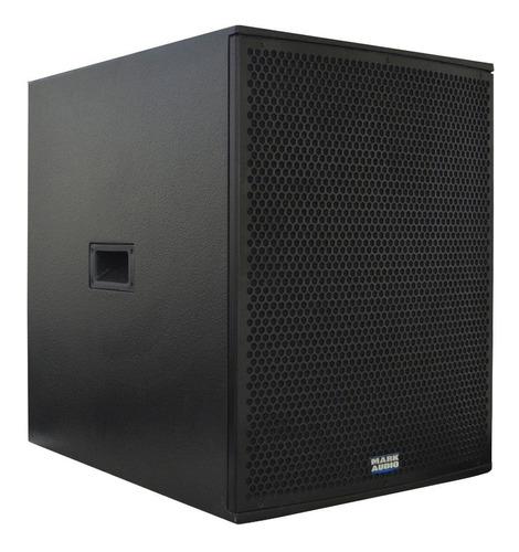 subwoofer ativo mark audio sa1200 falante 15 polegadas