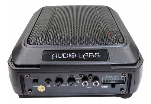 subwoofer audio labs amplificado sas68 cuadrado 6x8 cajon