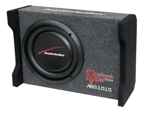 subwoofer audiobhan plano 10 1200w con cajón